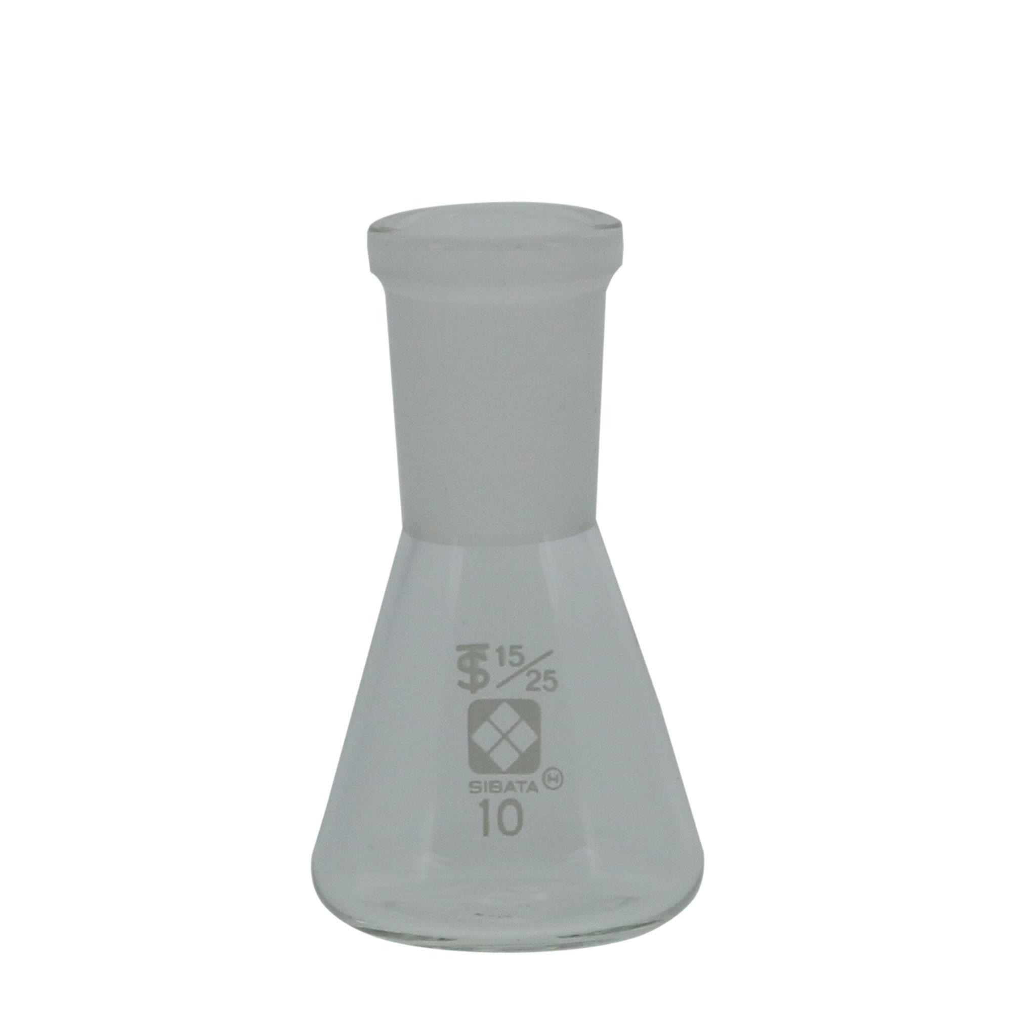 005510-1510 共通摺合三角フラスコ 15/25 10mL 柴田科学(SIBATA)