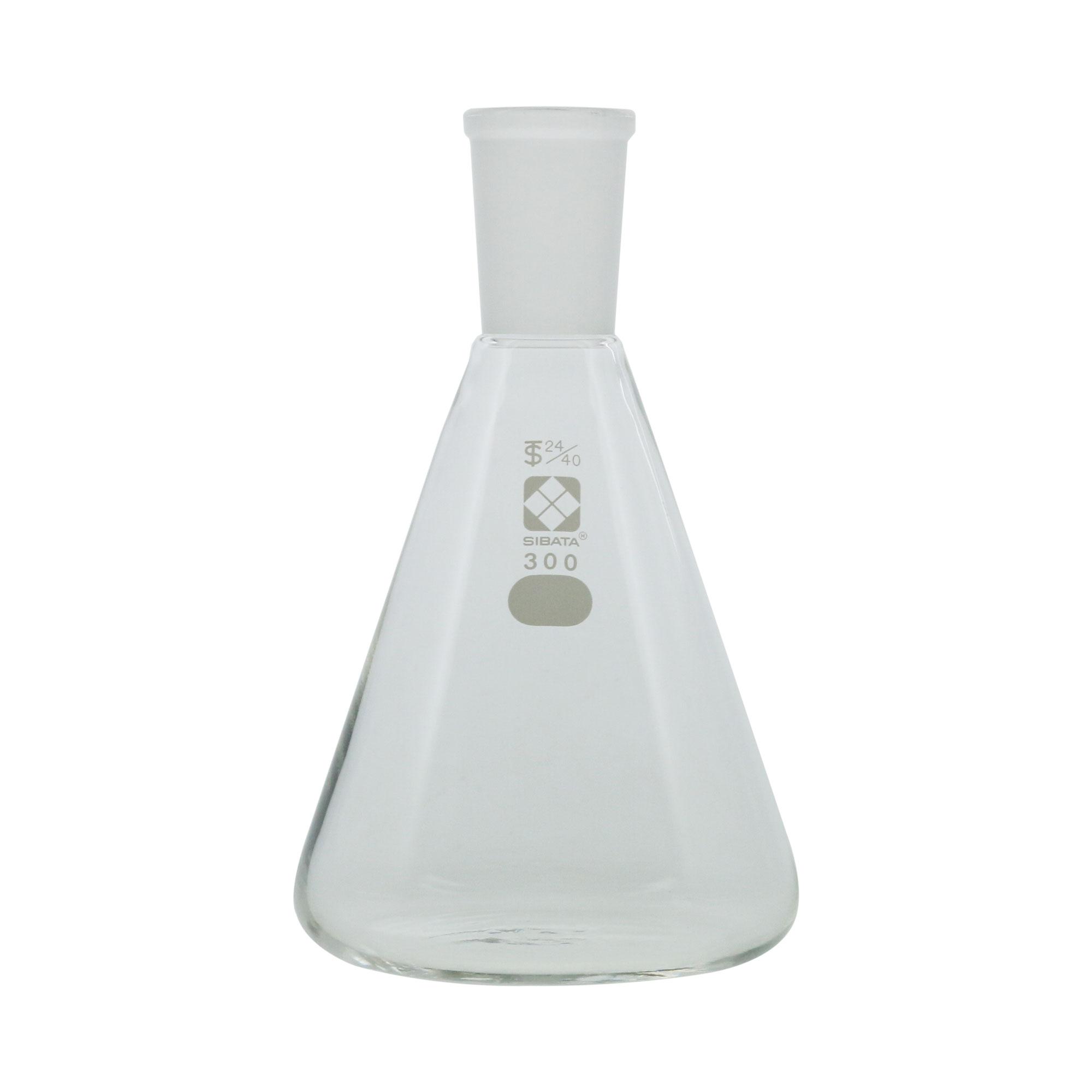 005510-24300 共通摺合三角フラスコ 24/40 300mL 柴田科学(SIBATA)