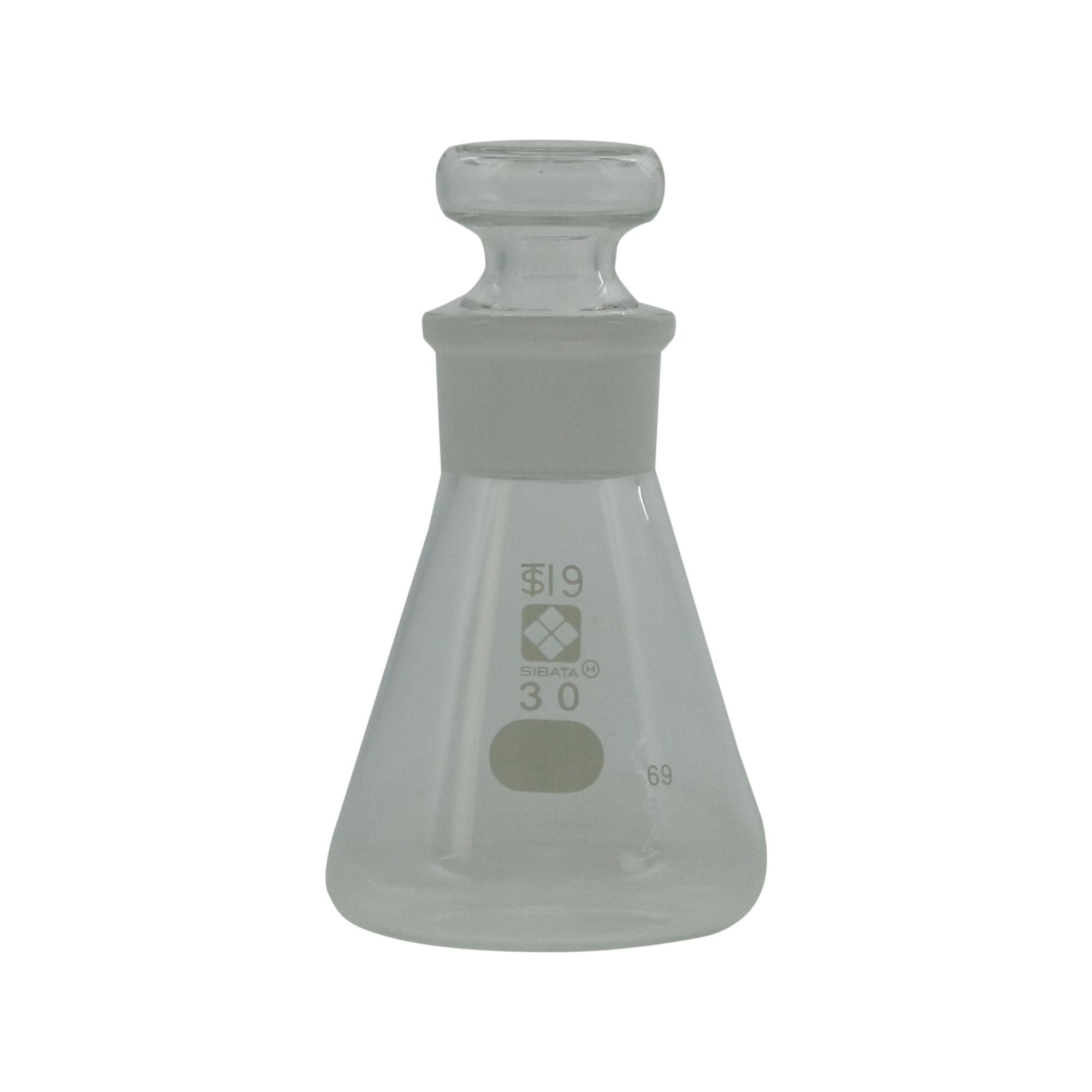 共通摺合共栓三角フラスコ 目安目盛付 30mL(30個)