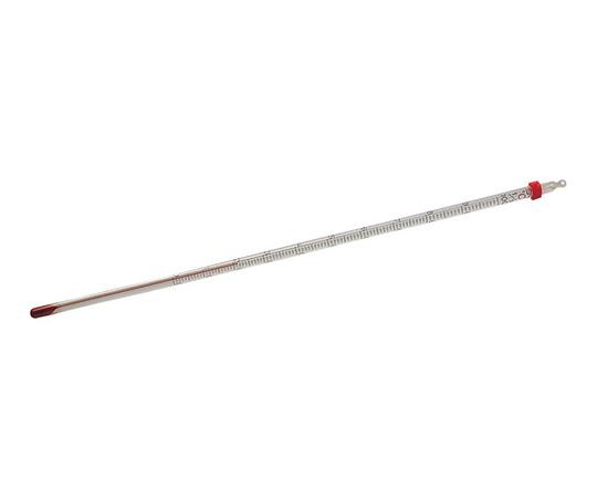 赤液棒状温度計 0~+100℃ 佐藤計量器製作所(SK SATO)