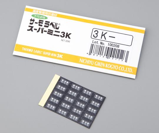 サーモラベル スーパーミニ 3K-80(20枚) 日油技研工業