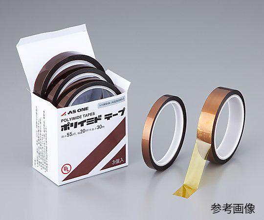 1-1369-01 ポリイミドテープ KS-100055-1 アズワン(AS ONE)