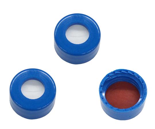 オートサンプラーバイアル用青キャップ No.5395F-09B(100個)