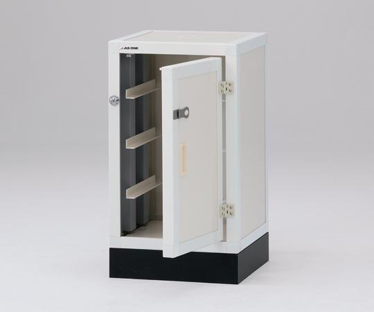 1-1631-01 ユニット型塩ビ薬品庫(下段) DK450 アズワン(AS ONE)