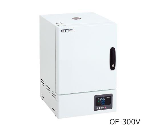 定温乾燥器(タイマー仕様・強制対流方式) 窓無しタイプ 左扉 OF-300V(出荷前点検検査書付)