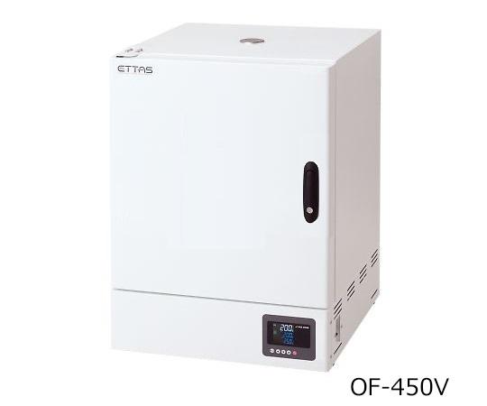 1-2125-22-22 定温乾燥器(タイマー仕様・強制対流方式) 窓無しタイプ 左扉 OF-450V(出荷前点検検査書付) アズワン(AS ONE)