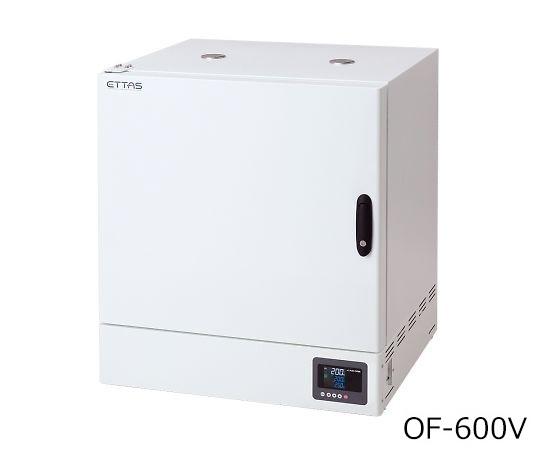 定温乾燥器(タイマー仕様・強制対流方式) 窓無しタイプ 左扉 OF-600V(出荷前点検検査書付)