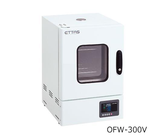 定温乾燥器(タイマー仕様・強制対流方式) 窓付きタイプ 左扉 OFW-300V(出荷前点検検査書付)