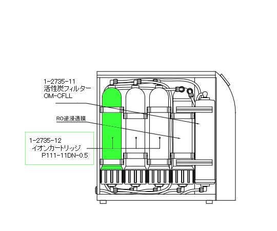 超純水製造装置用部品 IP111-11DN-0.5
