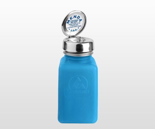 静電気拡散性ボトル(角型)ピュアタッチ(逆流防止付き)180mL 35285 DESCO