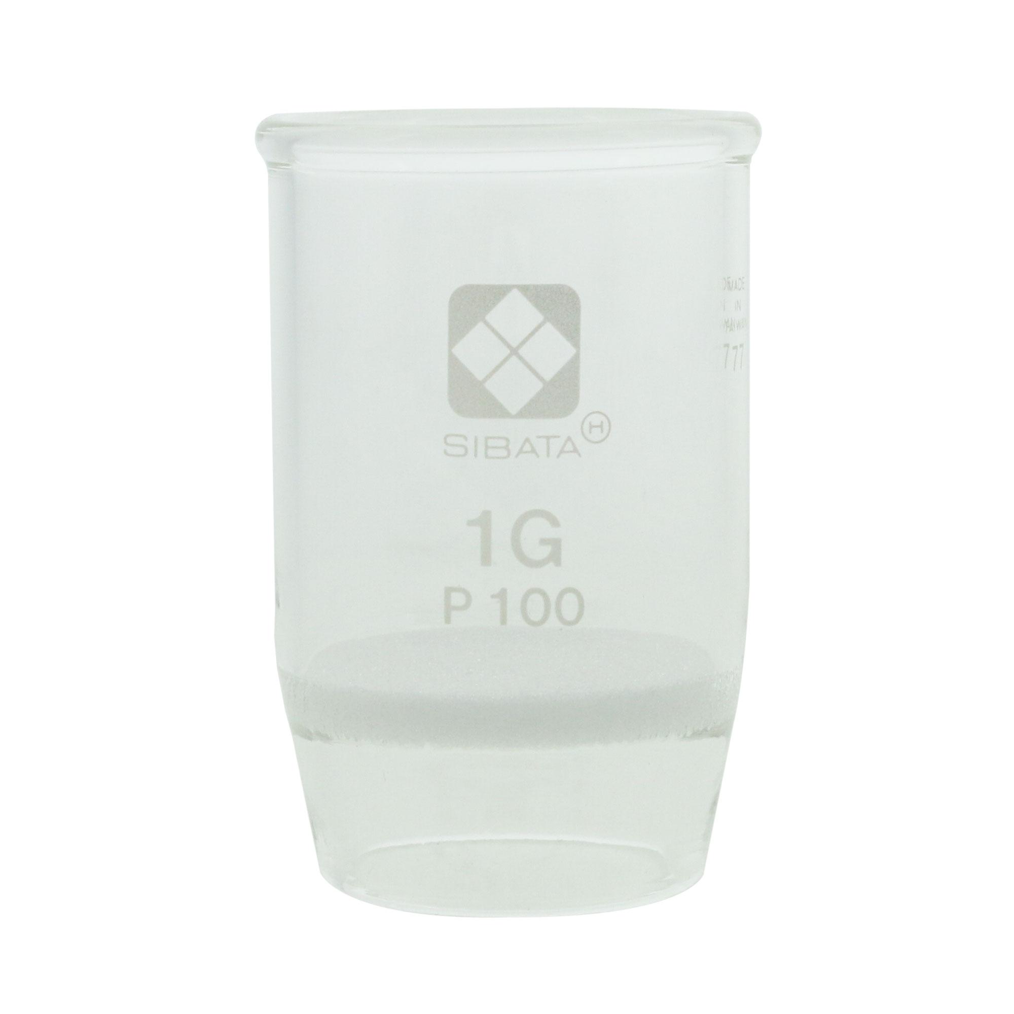 ガラスろ過器 1G るつぼ形 1GP100(3個)
