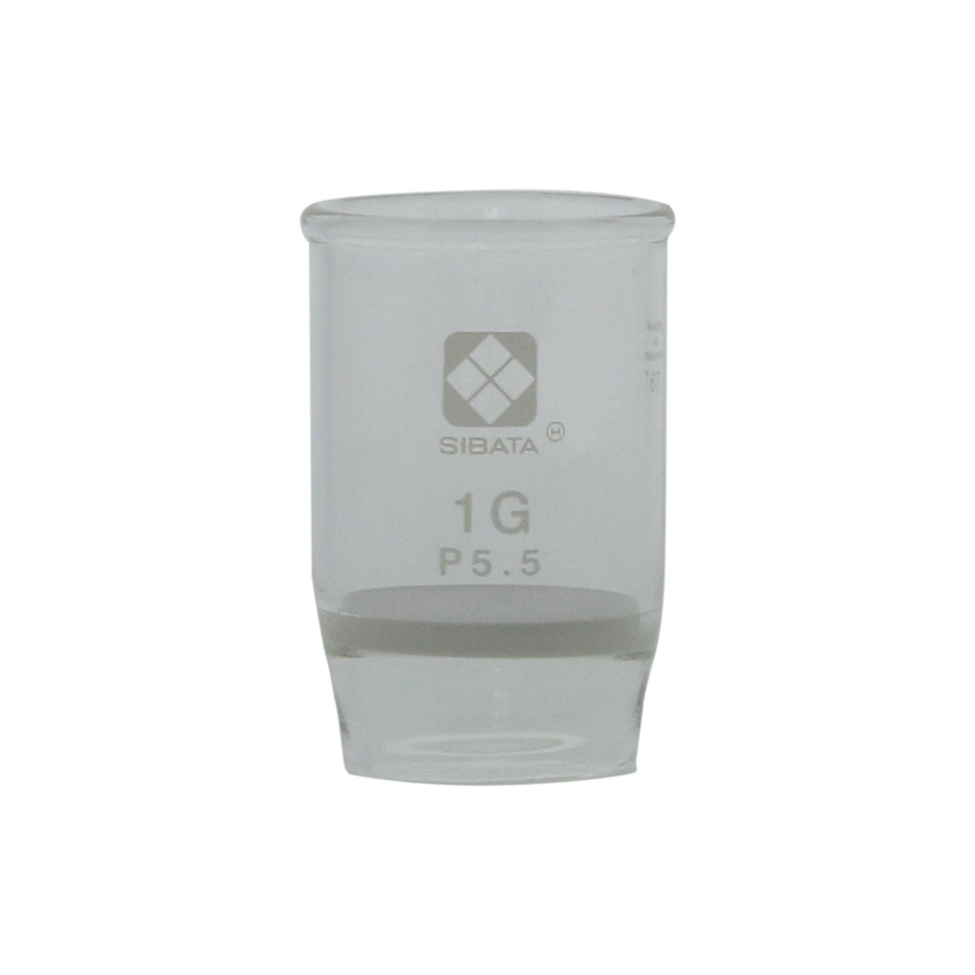 ガラスろ過器 1G るつぼ形 1GP5.5(3個)