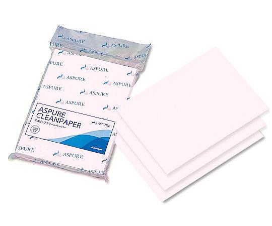 1-3068-53 アズピュア クリーンペーパーⅡ A4(ピンク)(250枚×10袋) アズワン(AS ONE)
