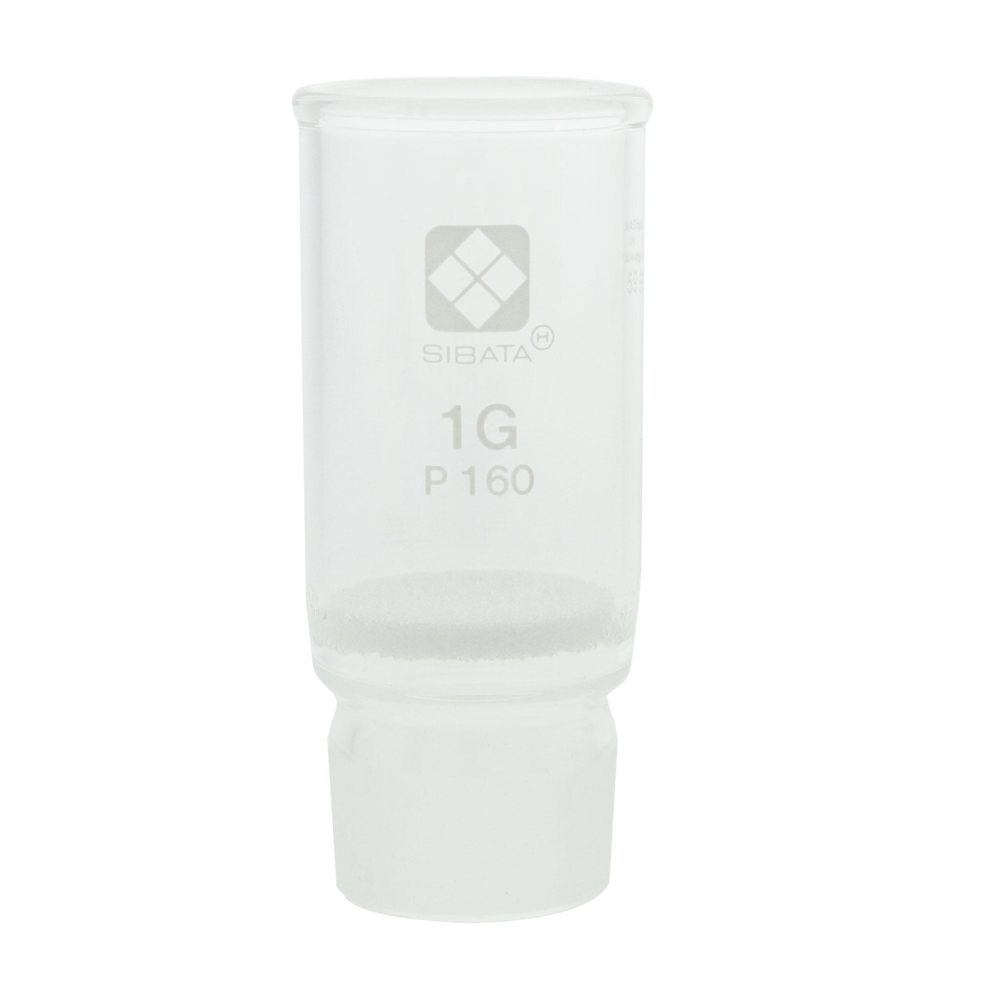 013070-1160 共通摺合ガラスろ過器 1G るつぼ形 分離足式 P160 柴田科学(SIBATA)