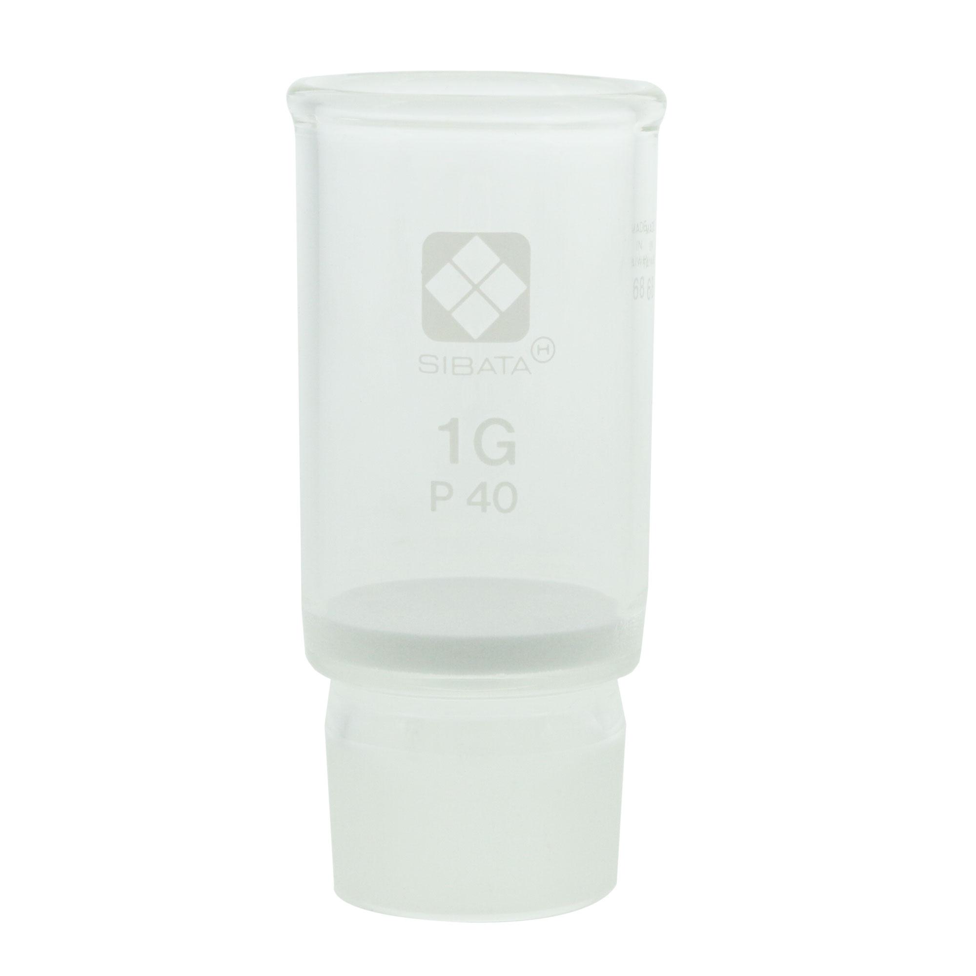 013070-140 共通摺合ガラスろ過器 1G るつぼ形 分離足式 P40 柴田科学(SIBATA)