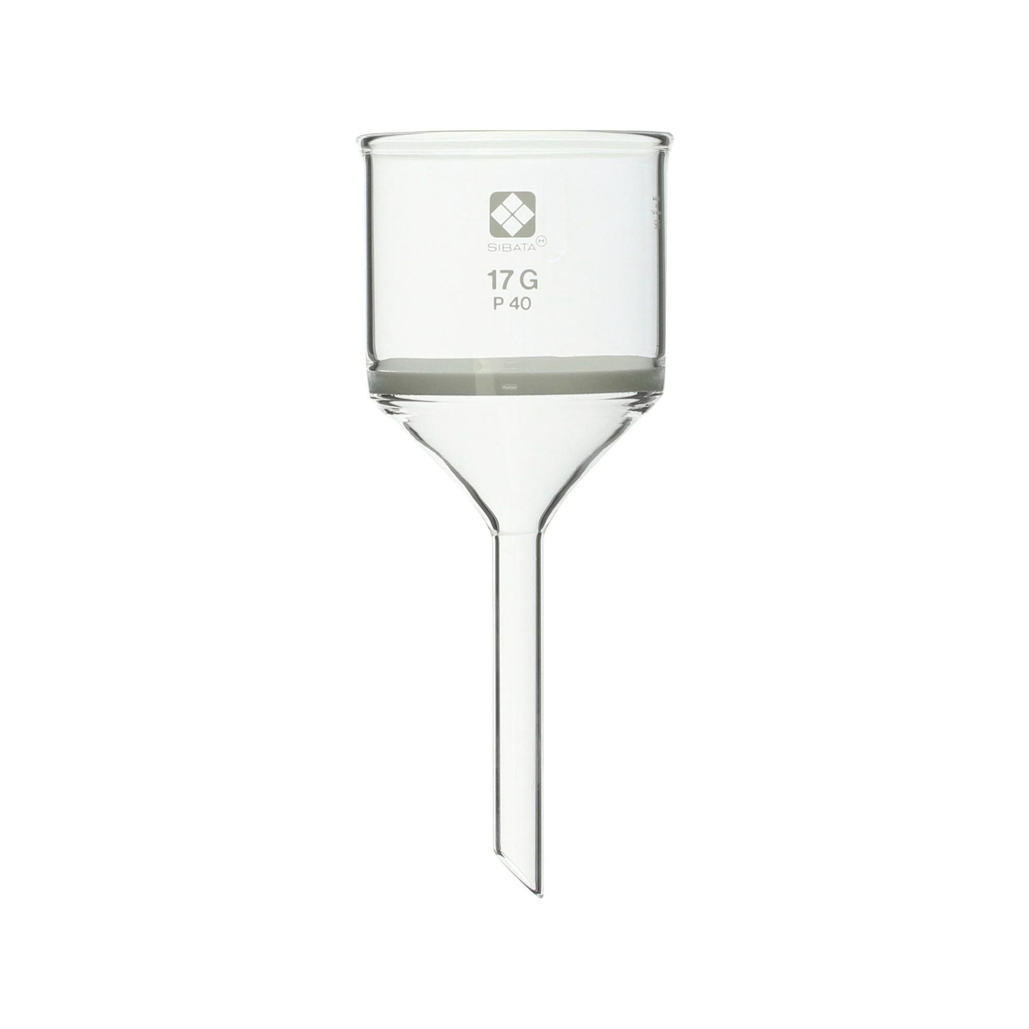 013110-1740 ガラスろ過器 17G 円筒ロート形 17GP40 柴田科学(SIBATA)