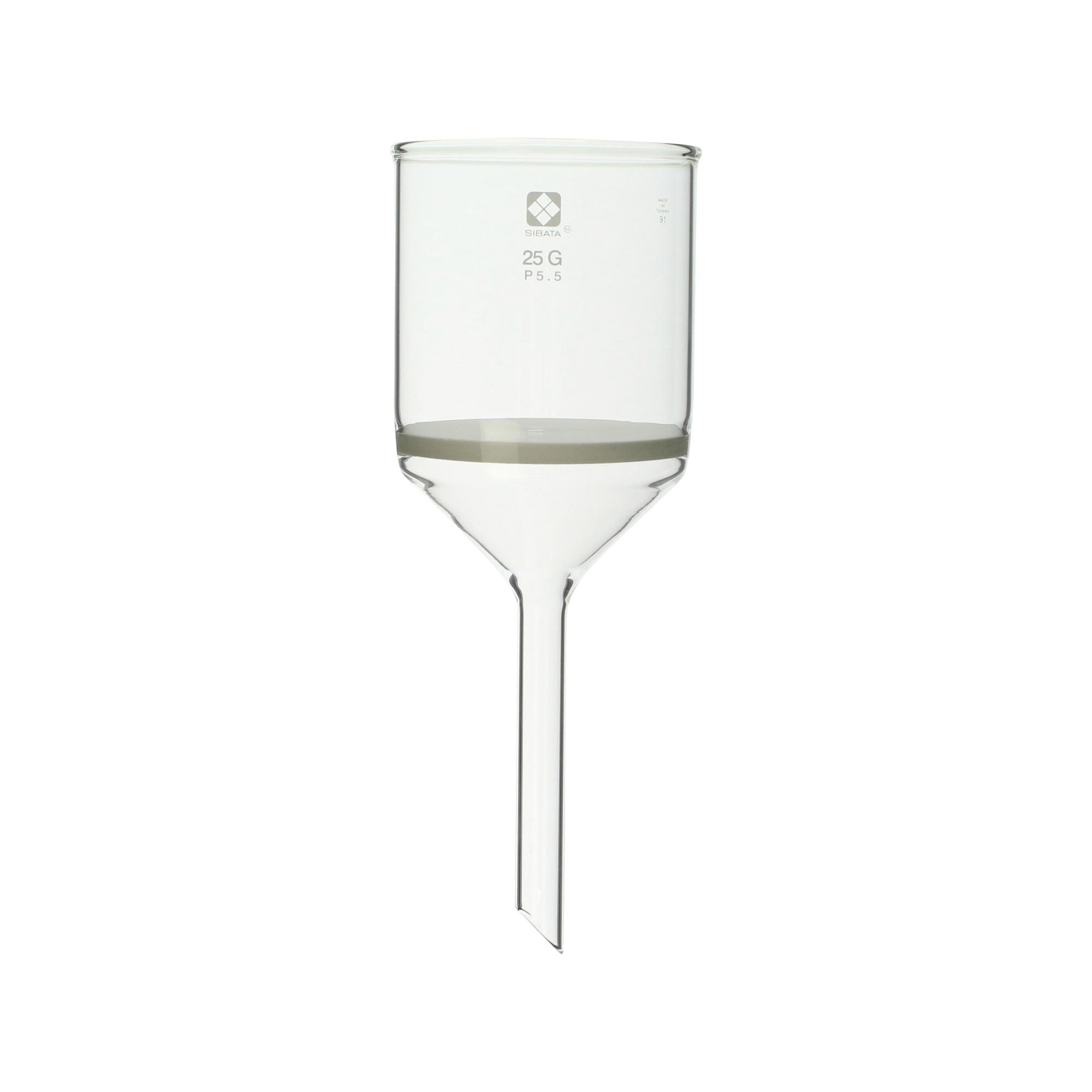 ガラスろ過器 25G ブフナロート形 25GP5.5