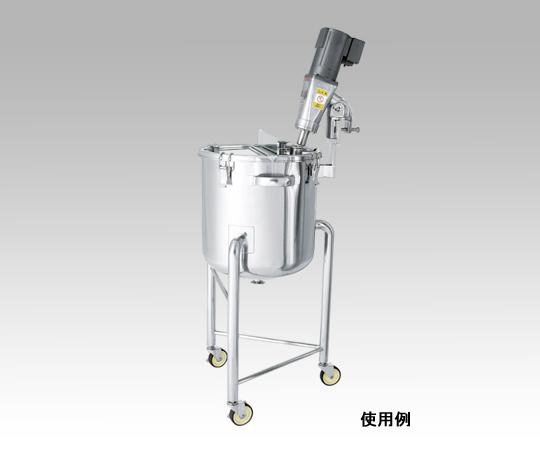 カクハン機座付鏡板型容器 DTK-43 日東金属工業【Airis1.co.jp】