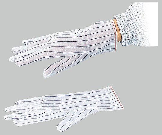 1-4295-02 AP ESDポリエステル手袋ショート M(10双) アズワン(AS ONE)