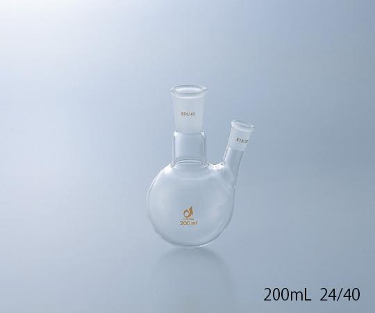 CLIMING 共通摺合二口フラスコ 24/40 1000mL クライミング(CLIMBING)【Airis1.co.jp】