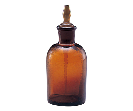スポイト瓶(ゴム無) 褐色 30mL