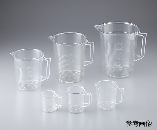 透明計量カップ 200mL ニッコー・ハンセン