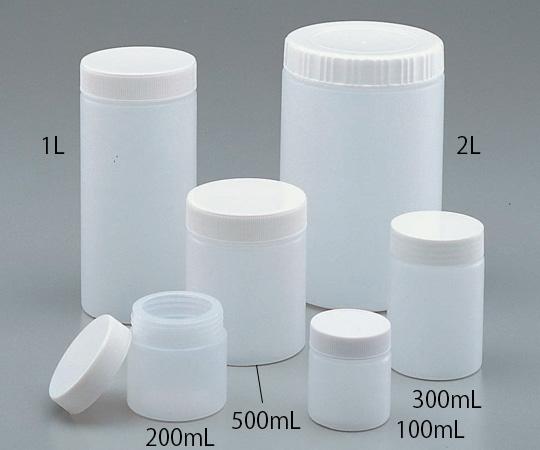 1-4637-03 ポリ軟こう瓶 300mL アズワン(AS ONE)