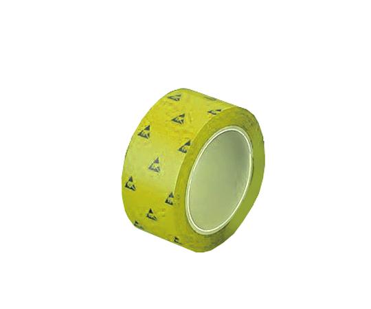 1-4808-61 アズピュアESD PETラインテープN 黄 50mm×33m(5巻) アズワン(AS ONE)