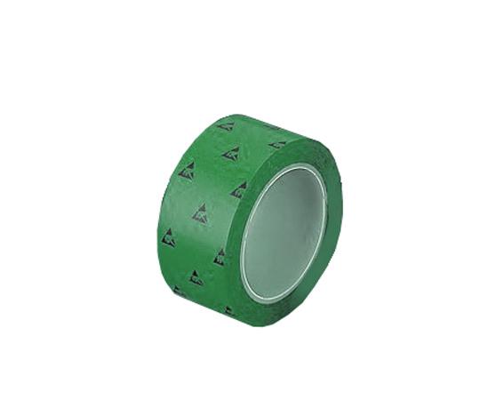 アズピュアESD PETラインテープN 緑 50mm×33m(5巻)