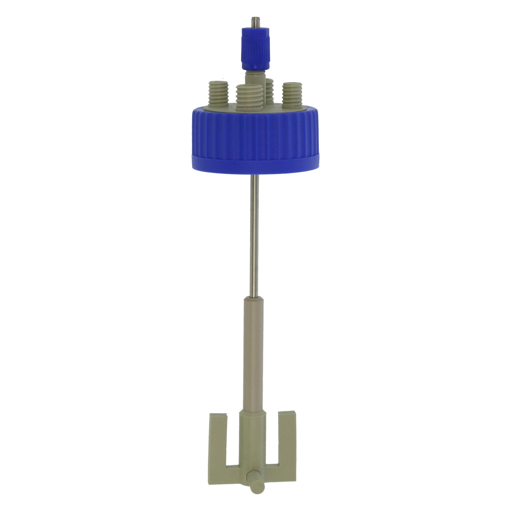 DURAN 撹拌反応容器用キャップセット(シャフト付き) GLS-80