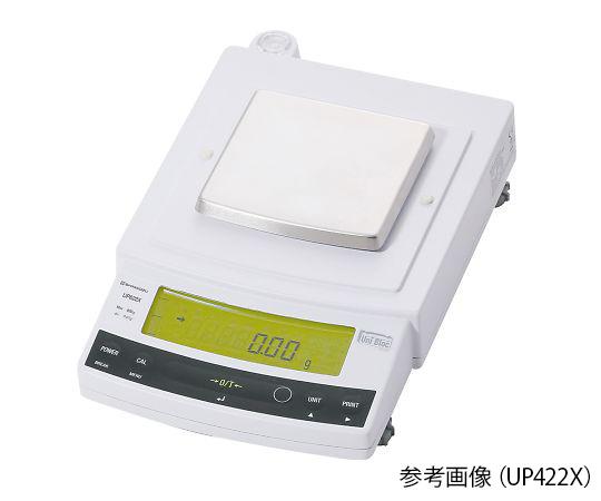 上皿天びん UP-X・校正分銅内蔵タイプ 420g 最小表示:0.01g UP422X 島津製作所