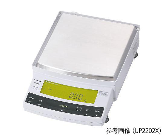 上皿天びん UP-X・校正分銅内蔵タイプ 2200g 最小表示:0.01g UP2202X