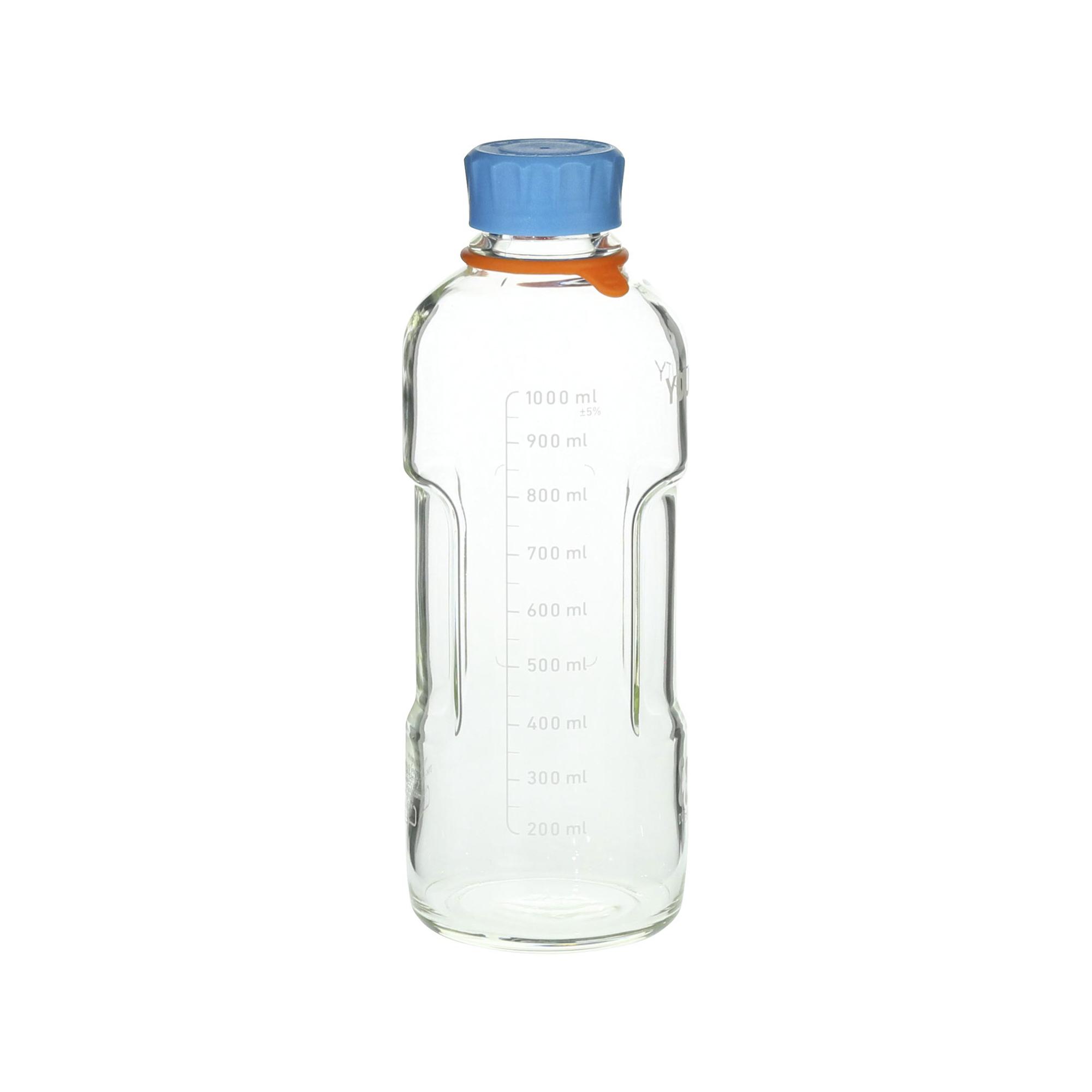 DURAN ユーティリティーねじ口ボトル 水キャップ付 1L(4個)