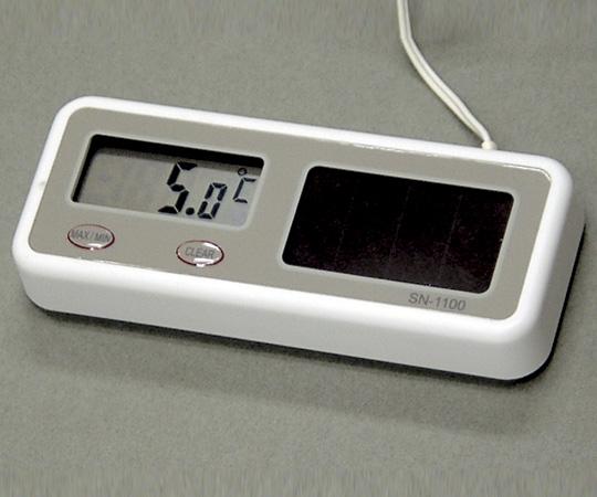 SN-1100(1-7340-01-20) ソーラー・リチウム温度計 校正証明書付 SN-1100 熱研