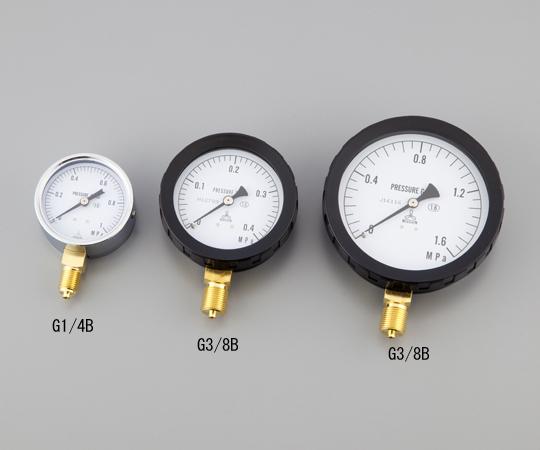 汎用圧力計 A形 φ75 G3/8B6.0