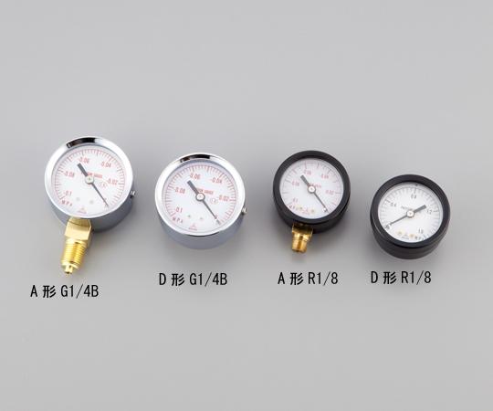 小型圧力計 A形 φ40 R1/82.5【Airis1.co.jp】