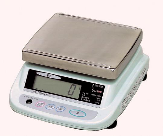 上皿型重量はかり S-boxWP15(防水型) イシダ