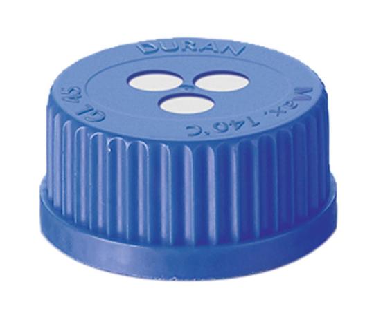 ねじ口瓶用キャップ(青GL-45用) 017200-4571A(5個) デュラン(DURAN)