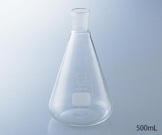 SCHOTT 共通摺合三角フラスコ 200mL デュラン(DURAN)
