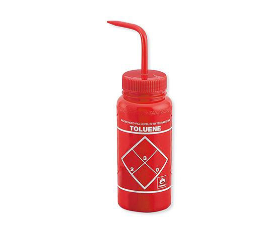 ラベル付洗浄瓶 (トルエン) No.11646-0628