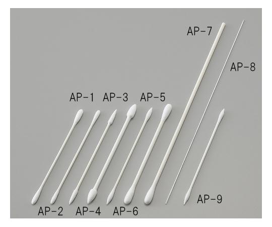 1-8584-07 アズピュア 工業用綿棒 AP-7(100本×10袋) アズワン(AS ONE)