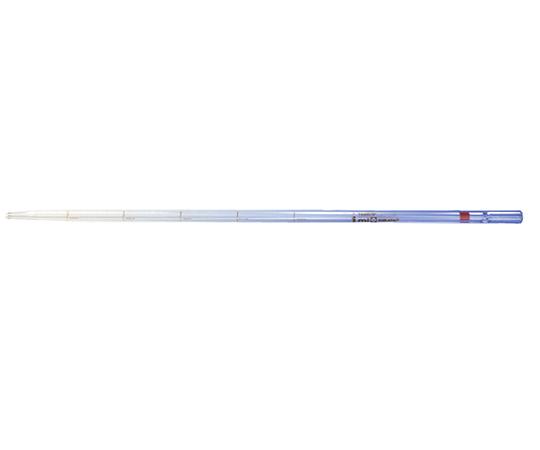 バイオピペット カラーコード付 ロングタイプ 1mL