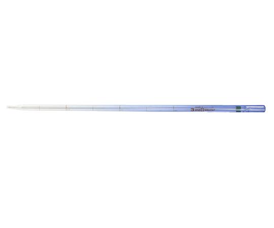 バイオピペット カラーコード付 ロングタイプ 3mL