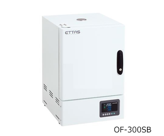 ETTAS 定温乾燥器(強制対流方式) スチールタイプ・窓無し 左扉 校正証明書付 OF-300SB