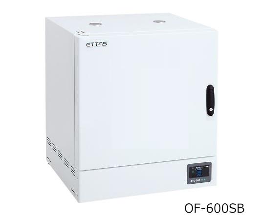 1-8999-53 定温乾燥器(強制対流方式) スチールタイプ・窓無し 左扉 OF-600SB アズワン(AS ONE)