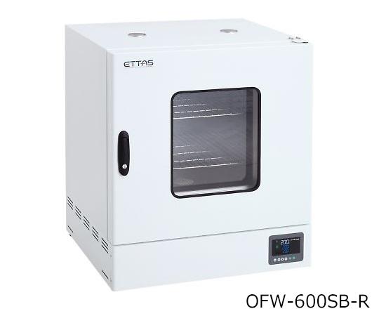 1-9000-36-20 定温乾燥器(強制対流方式) スチールタイプ・窓付き 右扉 校正証明書付 OFW-600SB-R アズワン(AS ONE)