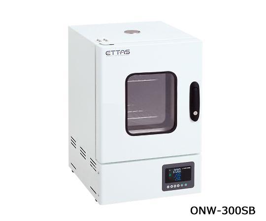 1-9004-41-20 定温乾燥器(自然対流方式) スチールタイプ・窓付き 左扉 校正証明書付 ONW-300SB アズワン(AS ONE)