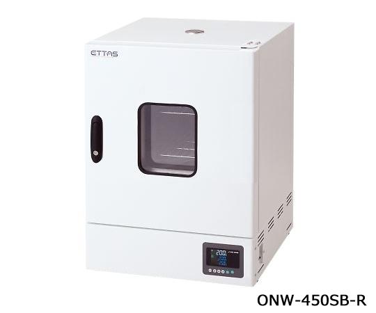 1-9004-45-20 定温乾燥器(自然対流方式) スチールタイプ・窓付き 右扉 校正証明書付 ONW-450SB-R アズワン(AS ONE)