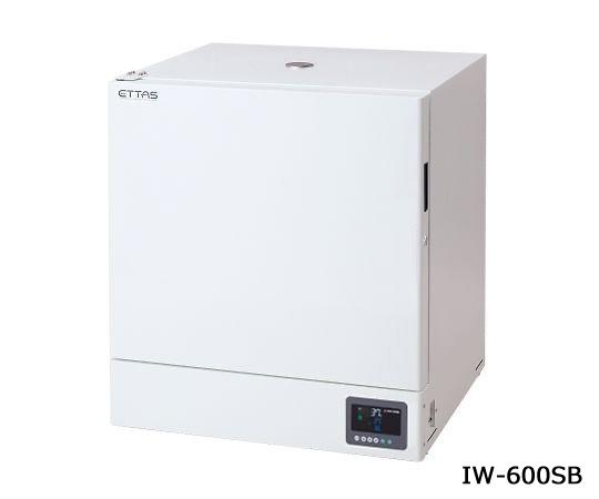 ETTAS インキュベーター(スチールタイプ) 校正証明書付 IW-600SB