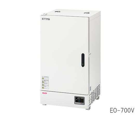 1-9382-42-20 定温乾燥器(プログラム機能仕様・自然対流式) 135L 校正証明書付 EOP-700V アズワン(AS ONE)